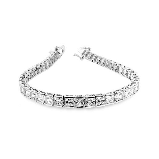 Clear CZ Tennis Bracelet - Perfect Jewellery Gift