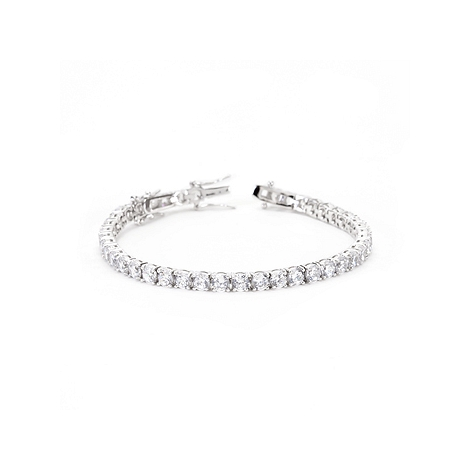 Clear CZ Tennis Bracelet - Designer Fashion Jewelry