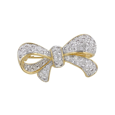 Classic Bow Brooch - Designer Fashion Jewelry