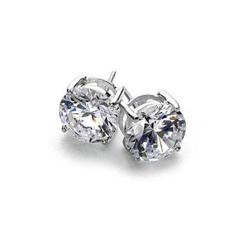 Penelope Stud Silver Earrings