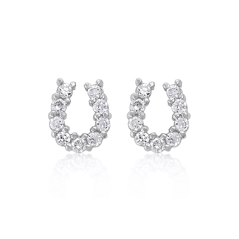 Fashion Lucky Horseshoe Earring Set