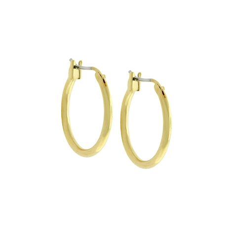 Small Golden Hoop Earrings - Designer Jewelry