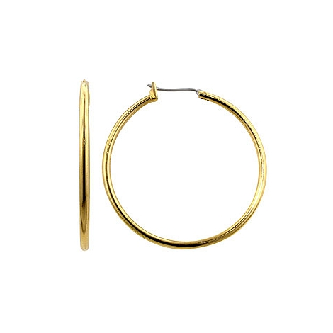 Classic Basic Golden Hoop Earrings