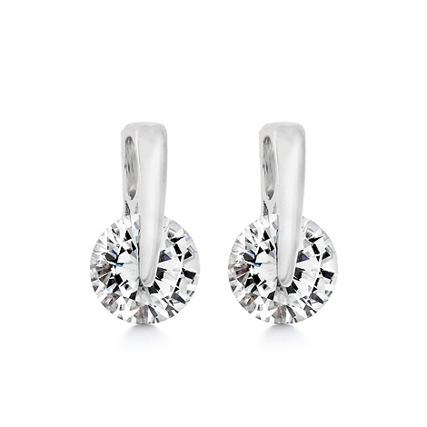 Fashion Diamond Record Earrings