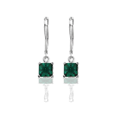 Forest CZ Drop Earrings From DT Jewellery Store