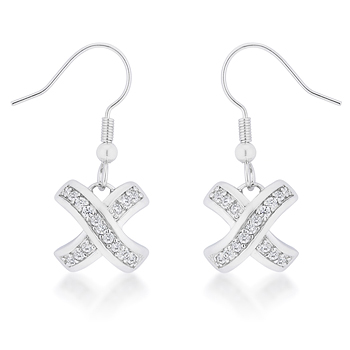 Classic Timeless Pave Drop Earrings 3 CT