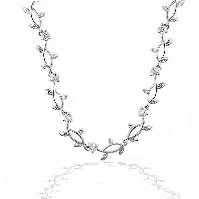 Silver Vineyard Necklace - Jewelry Gifts