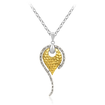 Contemporary Vanity Heart Pendant