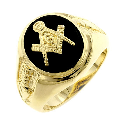 Symbolic Onyx Masonic Ring From DT Jewellery Store