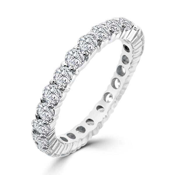 Sterling Silver Eternity Terra Bella Wedding Band