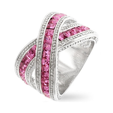 Eternity Twisting Pink Band