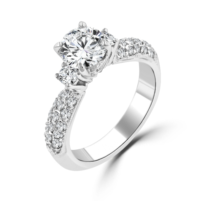 eleanore classic engagement ring under 100 - Cheap Wedding Rings Sets