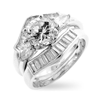cheap cz engagement ring