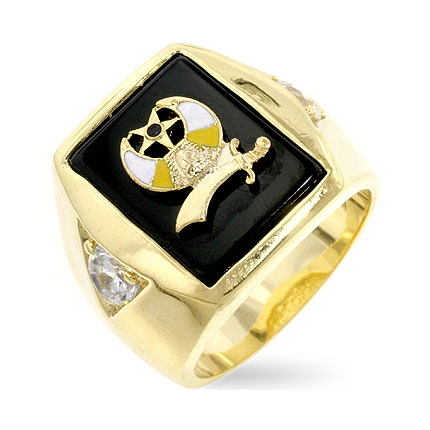 Classic Shriners Mens Ring - DT Jewelers