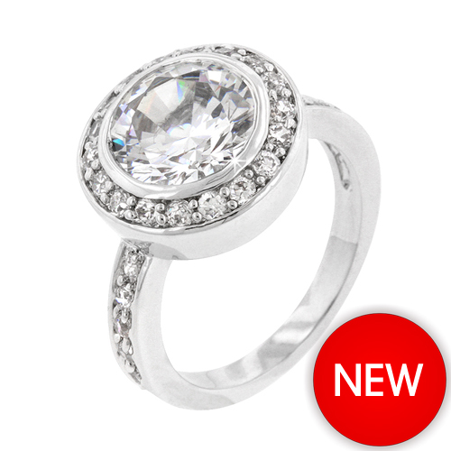 5.5 CT Contemporary Gatsby Engagement Ring Bestseller