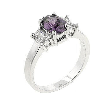 Lilac Engagement Ring - Fine Jewelry On Sale