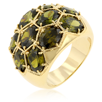 Cocktail Spring Dome Ring From DT Jewellery Store