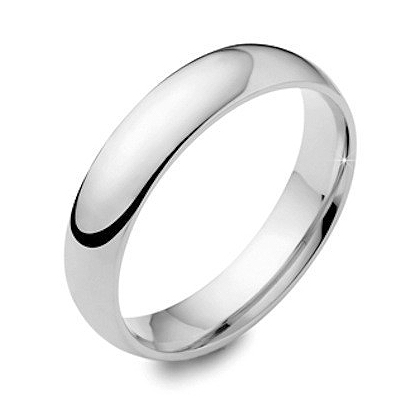 5 mm Classic Wide Wedding Band Ring