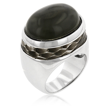 Antique Snake Eye Ring - Unique Design Jewelry