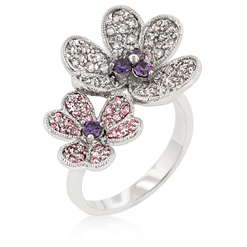 Cocktail Blossom Fashion Ring