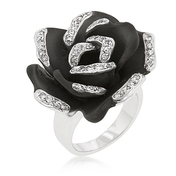 Onyx Bloom Cocktail Ring From DT Jewellers