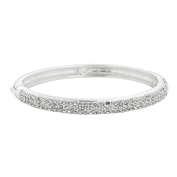 Classic Crystal Clear Bangle