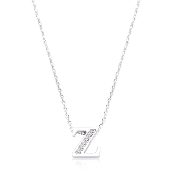 Classic Pave Initial Z Pendant