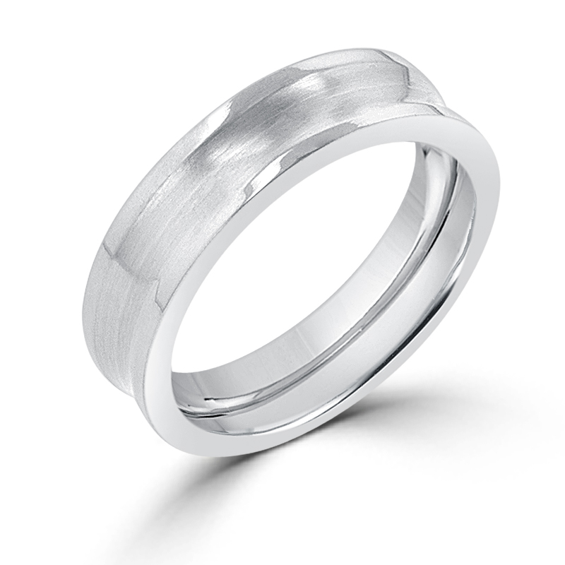 Eternity 6 mm Stainless Steel Band