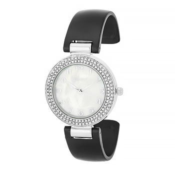 Crystal Watch - Black