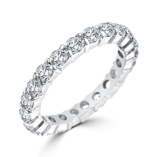cubic zirconia eternity band - Cheap Wedding Rings Under 100
