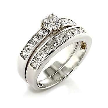 bridal sets princess cut bridal sets wedding rings