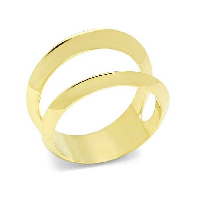 Classic 14K Gold Plated Modern Fashion Ring