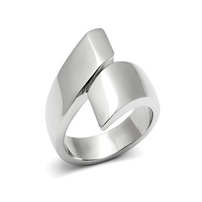 Silver Tone Fashion Ring
