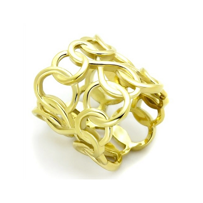 Petite 14K Gold Plated Modern Fashion Ring