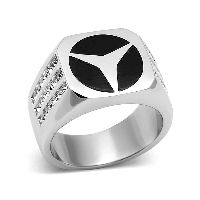 Mercedes Mens Ring