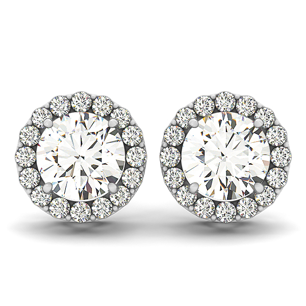 Fancy Diamond Stud Earrings