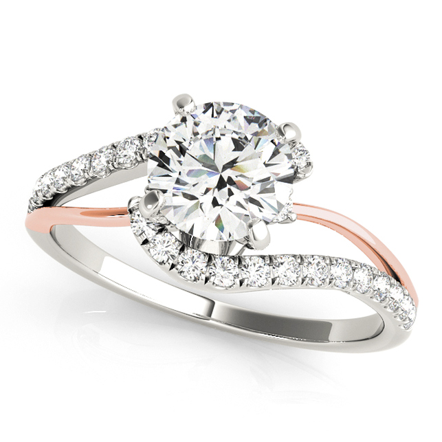 Fine Diamond Engagement Ring Split Shank