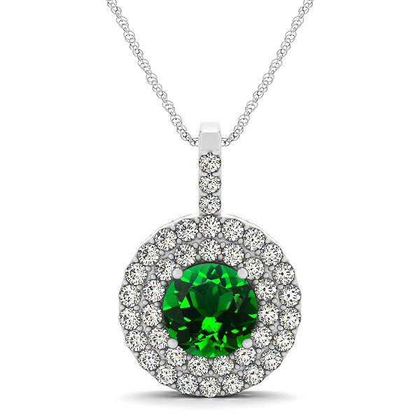 Back > Gallery For > Emerald Necklace