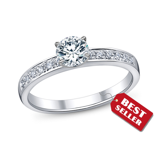 Clic Engagement Ring Under 500