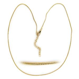 14K Yellow Gold Plated Fashion Necklace