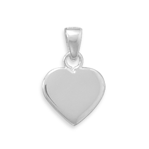 13.5mm Engravable Heart Tag