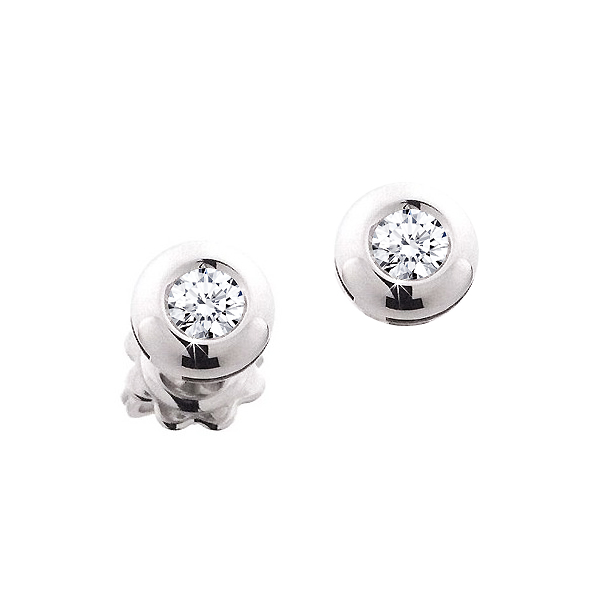 Elegant Stud Earrings 1/3CT Diamonds