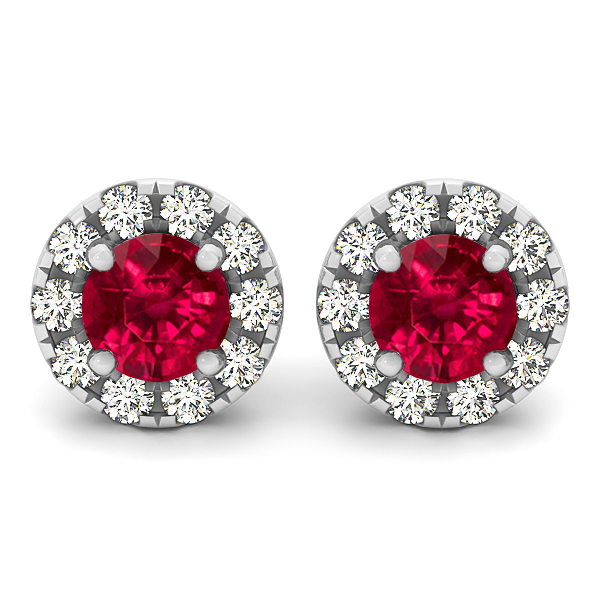 Ruby Earrings for Women