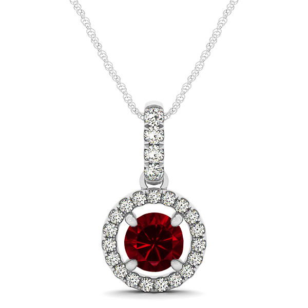 Ruby and diamond necklace aloadofball Images