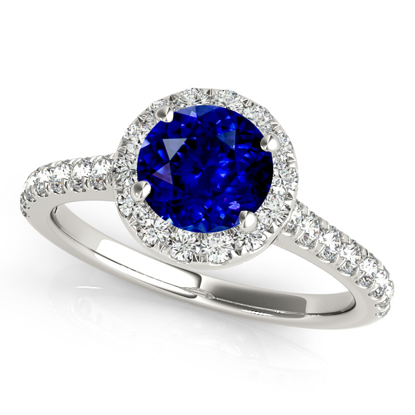 diamond edwardian and engagement brushed ring style product finish sapphire