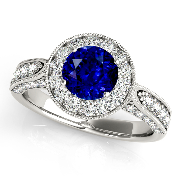Extraordinary Vintage Sapphire Engagement Ring