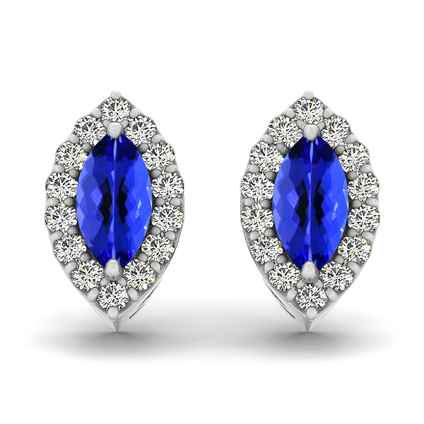 Marquise Tanzanite Earrings